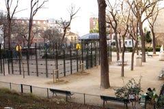Playground square Royalty Free Stock Image