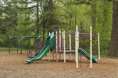 Playground in a state park. Stock Image