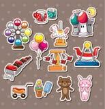 Playground stickers Royalty Free Stock Image