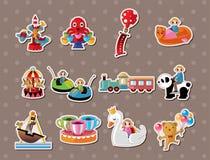 Playground stickers Royalty Free Stock Photo