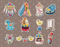 Playground stickers Stock Image