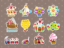 Playground stickers Stock Photography