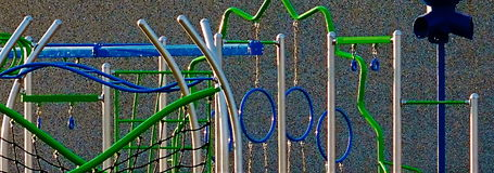 Playground Structure Abstract stock images