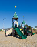 Playground in suburban area. Neighborhood Royalty Free Stock Image