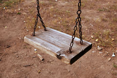 Playground swing Royalty Free Stock Images