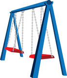 Playground Swing Illustration Stock Photo