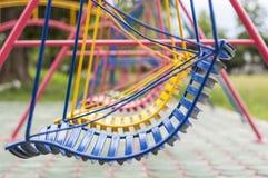 Playground swing seat. Stock Images