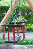 Playground swing set Stock Image