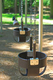 Playground Swing Stock Photo