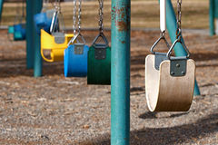 Playground Swings Stock Photos