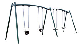 Playground Swings Royalty Free Stock Photo