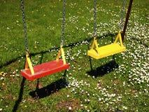 Playground Swings Royalty Free Stock Photos
