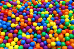 Playground toys. Silicone colored balls for children stock photography