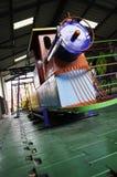 Playground. Train in the playground Stock Image