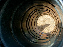 Playground Tunnel Slide Stock Photo
