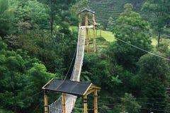 Playground at Umbul sidomukti Stock Images
