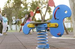 At the playground Royalty Free Stock Photos
