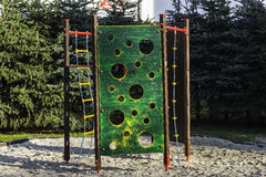 Playground wall Stock Images
