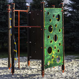Playground wall Stock Photography