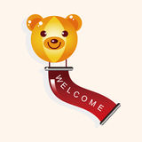 Playground welcome ballon theme elements vector,eps. Vector illustration file Royalty Free Stock Photo