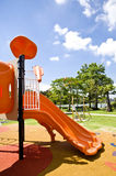 Playgrounds in garden Stock Image