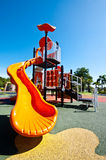 Playgrounds in garden Stock Images