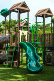 Playgrounds. A playgrounds in the garden Royalty Free Stock Photos
