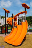 Playgrounds. A playgrounds in the garden Royalty Free Stock Photography