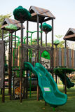 Playgrounds in garden Royalty Free Stock Images