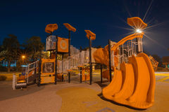 Playgrounds in garden Royalty Free Stock Photography