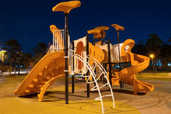 Playgrounds in garden Stock Photos