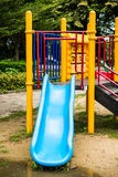 Playgrounds in garden Stock Photography