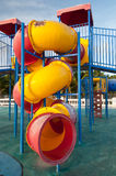 Playgrounds at seaside park Royalty Free Stock Photos