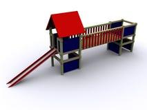 playhouse 3d Fotografie Stock Libere da Diritti