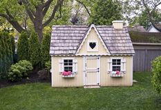 Playhouse in the backyard Royalty Free Stock Photography