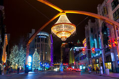 Playhouse Square Christmas Stock Image