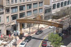 Playhouse Square - Cleveland, OH Stock Photo