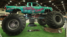 Playin for Keeps Monster Truck Stock Photos