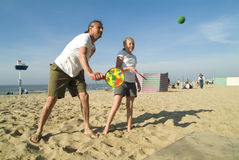 Free Playing A Ball Game Stock Photography - 2298672