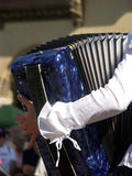 Playing the accordion Stock Photos