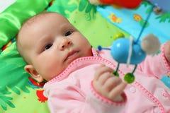 Playing baby stock photos