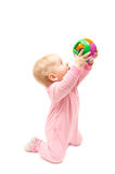 Playing baby Royalty Free Stock Photography