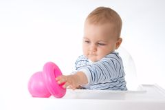Playing baby Royalty Free Stock Photos