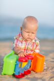 Playing baby Stock Photography