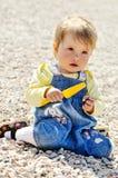 Playing baby girl Stock Photos