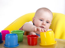 Playing baby Royalty Free Stock Image