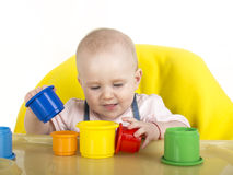 Playing baby Royalty Free Stock Images