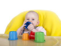 Playing baby Royalty Free Stock Photo