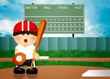 Playing baseball Stock Images