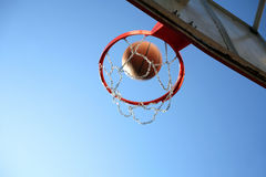 Playing basketball Royalty Free Stock Photos